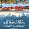 Unit 3 - Head Start Lecture - Business Management Notes