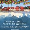 Unit 3 - Head Start Lecture - Health & Human Development Notes