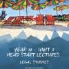 Unit 3 - Head Start Lecture - Legal Studies Notes