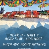 Unit 3 - Head Start Lecture - Much Ado About Nothing Notes