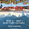 Unit 3 - Head Start Lecture - Rear Window Notes