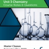Unit 3 - Master Class - Chemistry Notes