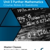 Unit 3 - Master Class - Further Maths Notes