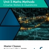 Unit 3 - Master Class - Maths Methods Notes