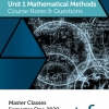 Unit 1 - Master Class - Maths Methods Notes