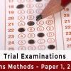 Unit 3 & 4 Maths Methods – Paper 1, 2 & 3